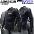 ウェットスーツ タッパー 長袖ジャケット フロントジップ 2020 AIDENTIFY アイデンティファイ メンズ 1mm Skin tapper [Orijinal Jacket] クラシック ロングスリーブ