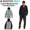 20-21 BURTON バートン パーカー Crown Weatherproof Full Zip Fleece クラウン ウェザープルーフ フルジップ フリース メンズ
