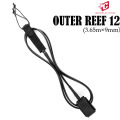 2020 CREATURES サーフィン リーシュコード OUTER REEF 12ft クリエイチャー パワーコード 9mm