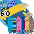 """[ラストBLUE限り] キャッチサーフ catch surf ソフトボード SKIPPER スキッパー QUAD クアッドフィン [6'0""""] 2020 odysea ソフトサーフボード ショートボード サーフィン [送料無料]"""