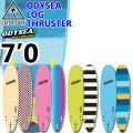 """キャッチサーフ catch surf ソフトボード LOG ログ TRI トライフィン [7'0""""] 2020 odysea ソフトサーフボード ファンボード [即出荷可能]  サーフィン [送料無料]"""