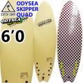 """[訳あり特別価格] キャッチサーフ catch surf ソフトボード 2020 SKIPPER スキッパー QUAD クアッドフィン [VANILLA] 6'0"""" odysea ソフトサーフボード ショートボード [送料無料]"""