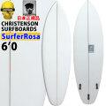 クリステンソンサーフボード CHRISTENSON SURFBOARDS SURFER ROSA 6'0 FCS2 TRI FIN [CLR] ツヤ無し ショートボード トランジッションボード スラスター 正規品 [条件付き送料無料]