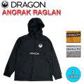 DRAGON ドラゴン ANORAK RAGLAN ウィンドブレーカー メンズ アウター ジャケット ウェア SNOW