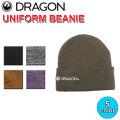 DRAGON ドラゴン UNIFORM BEANIE ビーニー ニット帽 小物