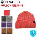 DRAGON ドラゴン WATCH BEANIE ビーニー ニット帽 小物