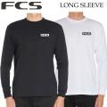 2020 FCS メンズ Tシャツ カットソー 長袖 ESSENTIALS LONG SLEEVE