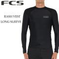 [メール便発送商品] 2020 FCS ラッシュガード メンズ 長袖 UPF50+ 紫外線対策 エフシーエス サーフィン マリンスポーツ