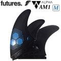 future fin フューチャーフィン ALPHA アルファ AM1 CARBON Mサイズ トライフィン 3枚セット 最軽量 サーフィン サーフボード [送料無料]