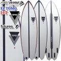 FIREWIRE SURFBOARDS ファイヤーワイヤー サーフボード EL TOMO FISH イーエル トモ フィッシュ 2020年 ダニエル・トムソン 最新モデル [LFT] 4PLUG QUAD FIN ショートボード [条件付き送料無料]