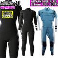 [follow's特別価格] 2020 Hurley ハーレー ウェットスーツ フルスーツ レディース 3mm [GZFLAD20] CHEST ZIP チェストジップ ADVANTAGE PLUS アドバンテージ プラス サーフィン 春夏用 ウエットスーツ