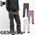 20-21 L1 エルワン ウェア GEMINI PANT ジェミニ パンツ メンズ スノーボード