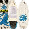 [送料無料] LIBTECH サーフボード リブテック CRAK'N クラーケン 4FIN WAKE SURF用 ウェイクサーフィン ボートサーフィン サーフボード 4フィン付 Lib Tech Surfboards CRAKN