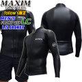 マキシム ウェットスーツ タッパー L/Sジャケット フロントジップ 2020年 [フォローズ限定] MAXIM 2mm メンズ [LCモデル] 春夏用 クラシックモデル BLKスキン 国内生産 日本正規品