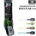 サーフィン リーシュコード DIAMOND FLEX REGULAR 7.0 オーシャン&アース OCEAN&EARTH ダイヤモンドフレックス レギュラー7