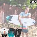 サーフィン デッキパッド RYAN CALLINAN ライアン・カリナン シグネチャーモデル OCEAN&EARTH ショートボード用 3ピース