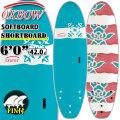 OXBOW SURFBOARDS オックスボウ サーフボード 6'0 SOFTBOARD ソフトボード SHORTBOARD ショートボード ソフトサーフボード [条件付き送料無料]