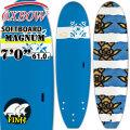 OXBOW SURFBOARDS オックスボウ サーフボード 7'0 SOFTBOARD ソフトボード MAGNUM マグナム ファンボード ソフトサーフボード [条件付き送料無料]