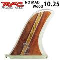 [follows特別価格] Rainbow Fin レインボーフィン Nomad Wood 10.25 [295] ロングボード センターフィン シングル フィン 1点物の木目シリーズ