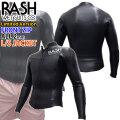 2020 rash WET SUITS ラッシュ ウエットスーツ フロントジップ L/Sジャケット BLKスキン 2mm メンズ  数量限定モデル LX FRONT ZIP TYPE 長袖タッパー クラシックスタイル ウェットスーツ 日本製