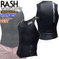 2020-2021 rash ウェットスーツ ラッシュ ウエットスーツ フロントジップ ベスト BLKスキン 2mm メンズ  数量限定モデル LX FRONT ZIP TYPE クラシックスタイル 国産高級ウェットスーツ
