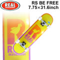 REAL リアル スケートボード コンプリート RS BE FREE [RE-112] 7.75inch スケボー SK8 完成品 SKATE BOARD COMPLETE