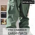 20-21 REPUBLIC&CO リパブリック パンツ 7TH CHAMBER CARGO PANTS チャンバーカーゴパンツ メンズ スノーウェア アウトドア タウンウェア