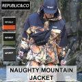 20-21 REPUBLIC&CO リパブリック ジャケット NAUGHTY MOUNTAIN JACKET ノーティー マウンテンジャケット メンズ スノーウェア アウトドア タウンウェア