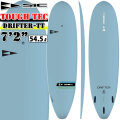 "SIC SURF エスアイシー サーフボード DRIFTER SERIES 7'2"" ドリフター TOUGH TEC フィン付 FCS FIN対応 ファンボード SURFBOARDS [条件付き送料無料]"