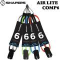 2020 シェイパーズ サーフィン リーシュコード AIR-LITE 6ft COMP コンプ6 SHAPERS