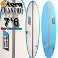 TORQ SurfBoard トルク サーフボード CHANCHO 7'6 チャンチョ [NEW BLUE PINLINE] AL MERRICK アルメリック サーフボード ファンボード ミッドレングス [送料無料]