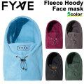 21-22 FYVEファイヴ Fleece Hoody Faca Mask フリース フーディー フェイスマスク スノーボード SNOW WEAR スノボ ウェアー