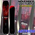 21-22 NOVEMBER ARTFREEDOM アートフリーダム 156cm 154cm 152cm ノベンバー ノーベンバー MOUNTAIN FREESTYLE メンズ サイズ 送料無料 スノーボード 板 2021 2022