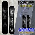 フォローズ限定 21-22 NOVEMBER ARTISTE アーティスト 150cm 152cm 154cm ノベンバー ノーベンバー PARK ALLROUND メンズ サイズ 送料無料 スノーボード 板 2021 2022