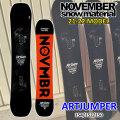 21-22 NOVEMBER ARTJUMPER アートジャンパー 154cm 152cm 150cm ノベンバー ノーベンバー PARK ALLROUND メンズ サイズ 送料無料 スノーボード 板 2021 2022