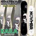 21-22 NOVEMBER KAILA カイラ 156cm 154cm 152cm ノベンバー ノーベンバー ALLROUND BIG AIR メンズ サイズ スノーボード 板 2021 2022