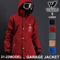 21-22 WACON スノーボードウェア メンズ GARAGE JACKET ガレージ ジャケット ワコン スノボ ジャケット