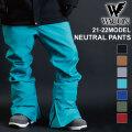 21-22 WACON スノーボードウェア メンズ パンツ NEUTRAL PANTS ニュートラル パンツ ワコン スノボパンツ