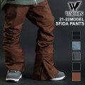 21-22 WACON スノーボードウェア メンズ SFIDA スフィーダ パンツ ワコン スノボパンツ