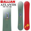 21-22 ALLIAN アライアン ATLANTIS アトランティス [ 148cm 151cm 154cm ] フリースタイル スノーボード 板 2021 2022 送料無料