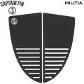 2021 キャプテンフィン MILITIA 2ピース サーフィンデッキパッド CAPTAIN FIN ミリシア