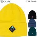 21-22 coal ビーニー THE OMAK コール ニット帽