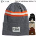 21-22 coal ビーニー THE UNIFORM STRIPE コール ニット帽