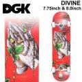DGK ディージーケー スケートボード コンプリート DIVINE [D-129] [D-130] 7.75 inch 8.0inch 完成品 スケボー SKATE BOARD COMPLETE