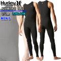2021 Hurley ハーレー ウェットスーツ ロングジョン メンズ 2mm [MZLJAD21] NO ZIP ノンジップ ADVANTAGE PLUS アドバンテージ プラス サーフィン 春夏用 ウエットスーツ