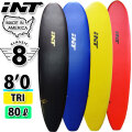 """[follows特別価格] [MADE IN USA] INT SURFBOARDS イント サーフボード THE CLASSIC クラシック TRI [8'0""""] ファンボード ミニロングボード ソフトボード サーフィン [即出荷] [営業所止め送料無料]"""