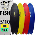 """[follows特別価格] [MADE IN USA] INT SURFBOARDS イント サーフボード THE FISH フィッシュ TRI [5'10""""] ソフトボード サーフィン ショートボード  [即出荷] [営業所止め送料無料]"""
