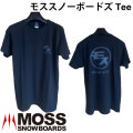 MOSS SNOWBOARDS モス スノーボード モススノーボードズ Tee Tシャツ 半袖 メンズ アパレル