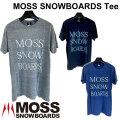 MOSS SNOWBOARDS モス スノーボード MOSS SNOWBOARDS Tee Tシャツ 半袖 メンズ アパレル