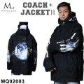21-22 MARQLEEN COACH + JACKET II MQ02003 マークリーン スノーボードウェア コーチ ジャケット ユニセックス